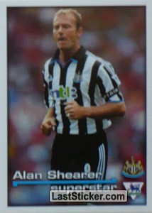Superstar Alan Shearer (Newcastle United)