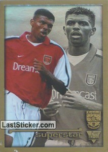 Superstar Kanu (Arsenal)