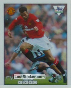 Ryan Giggs (Poster Merlin's Extreme Team)
