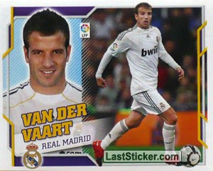 Van Der Vaart (11A) (REAL MADRID)