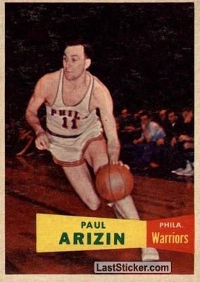 Paul Arizin (Philadelphia Warriors)