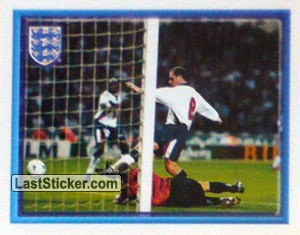 Paul Gascoigne scores (vs Moldova Home) (The Road to France)
