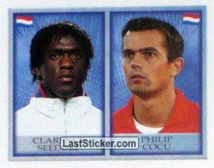 Clarence Seedorf/Philip Cocu (Holland)