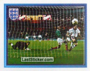 Robbie Fowler scores (vs Mexico Friendly) (The Road to France)