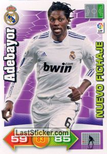 Adebayor (Real Madrid)