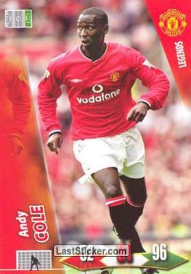 Andy COLE (Forwards)