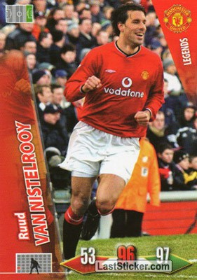 Ruud VAN NISTELROOY (Forwards)
