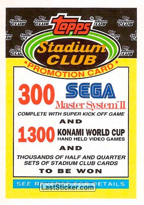 Record Breakers (Stadium Club)