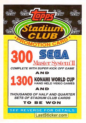 1991-92 Winners and Losers (Stadium Club)