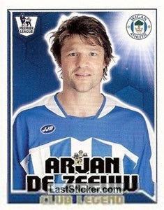 Club Legend (Wigan Athletic)