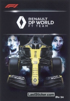 Renault DP World F1 Team (Team Card)