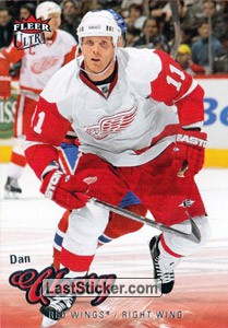 Dan Cleary (Detroit Red Wings)