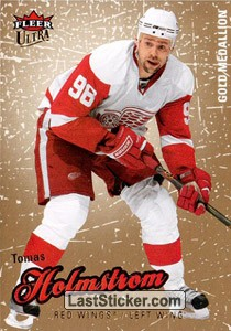 Tomas Holmstrom (Detroit Red Wings)