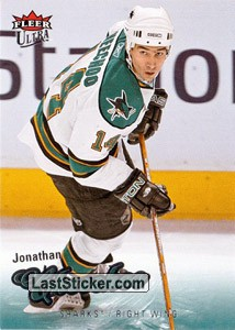 Jonathan Cheechoo (San Jose Sharks)