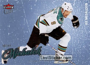 Milan Michalek (San Jose Sharks)