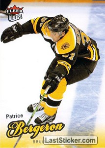 Patrice Bergeron (Boston Bruins)