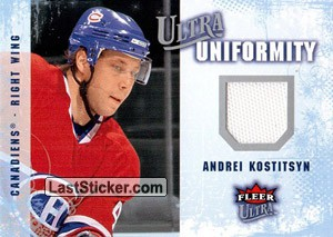 Andrei Kostitsyn (Montreal Canadiens)