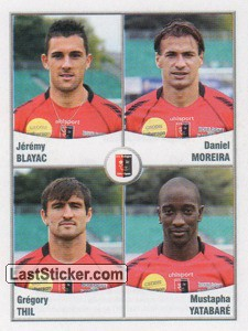 Blayac/Moreira/Thil/Yatabare (US Boulogne Cote D'Opale)