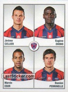 Cellier/Ekobo/Esor/Perrinelle (Clermont foot Auvergne 63)