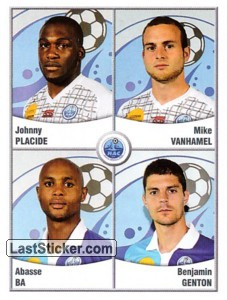 Placide/Vanhamel/Ba/Genton (Havre Athletic Club)