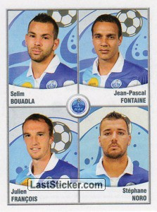 Bouadla/Fontaine/Francois/Noro (Havre Athletic Club)