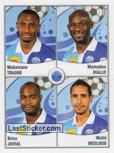 Traore/Diallo/Jovial/Mesloub (Havre Athletic Club)