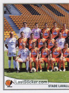 Equipe(puzzle 1) (Stade Lavallois Mayenne FC)