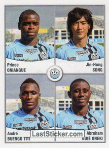 Oniangue/Song/Titi/Gneki (Tours FC)