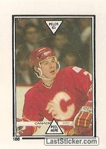 Joe Mullen - Lady Byng Trophy Winner (1986-87 Leaders)