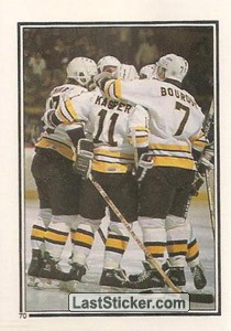 Boston Bruins (1986-87 Action)