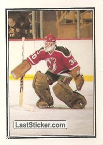 New Jersey Devils (1986-87 Action)