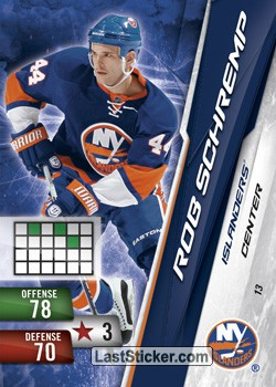 Rob Schremp (New York Islanders)