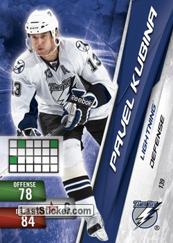 Pavel Kubina (Tampa Bay Lightning)