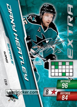 Dany Heatley (San Jose Sharks)