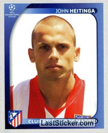 John Heitinga (Club Atlético De Madrid)