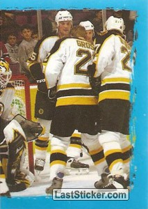 The game moment - puzzle 2 of 2 (Boston Bruins)