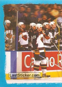 The game moment - puzzle 1 of 2 (Atlanta Thrashers)