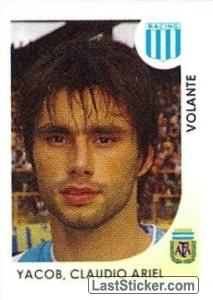 Yacob Claudio Ariel (Racing Club)