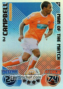 DJ Campbell (Blackpool Rovers)