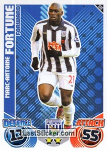 Marc- Antoine Fortune (West Bromwich Albion)