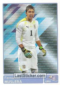 Fernando Muslera (Uruguai) (Players In Action)