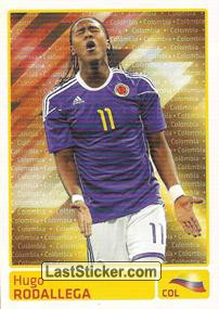 Hugo Rodallega (Colombia) (Players In Action)