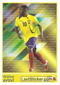 Walter Ayovi (Equador) (Players In Action)