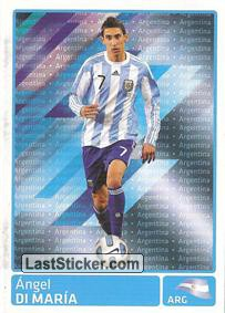 Angel Di Maria (Argentina) (Players In Action)