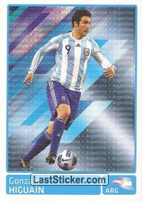 Gonzalo Higuain (Argentina) (Players In Action)