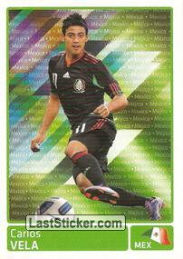 Carlos Vela (Mexico) (Players In Action)