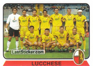 Squadra Lucchese (Serie C1 Girone A)