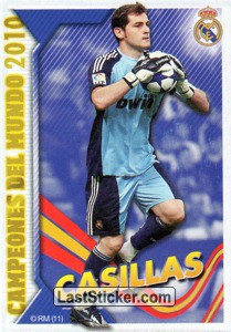 Campeón del mundo - Casillas (Real Madrid)