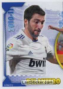 Higuaín (Mosaico) (Real Madrid)