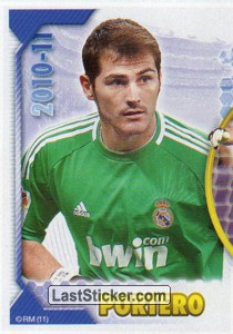 Casillas (Mosaico) (Real Madrid)
